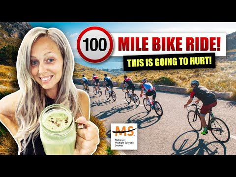 Sponsor My Husband, 100 Mile Bike Ride For Multiple Sclerosis & Update On My MS Journey Sep 2019