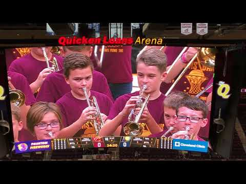 Willetts Middle School Band - Quicken Loans Arena - 2017-11-01