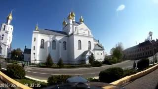 Покатушки по городу Слоним (Беларусь) на BMW R1200 GS
