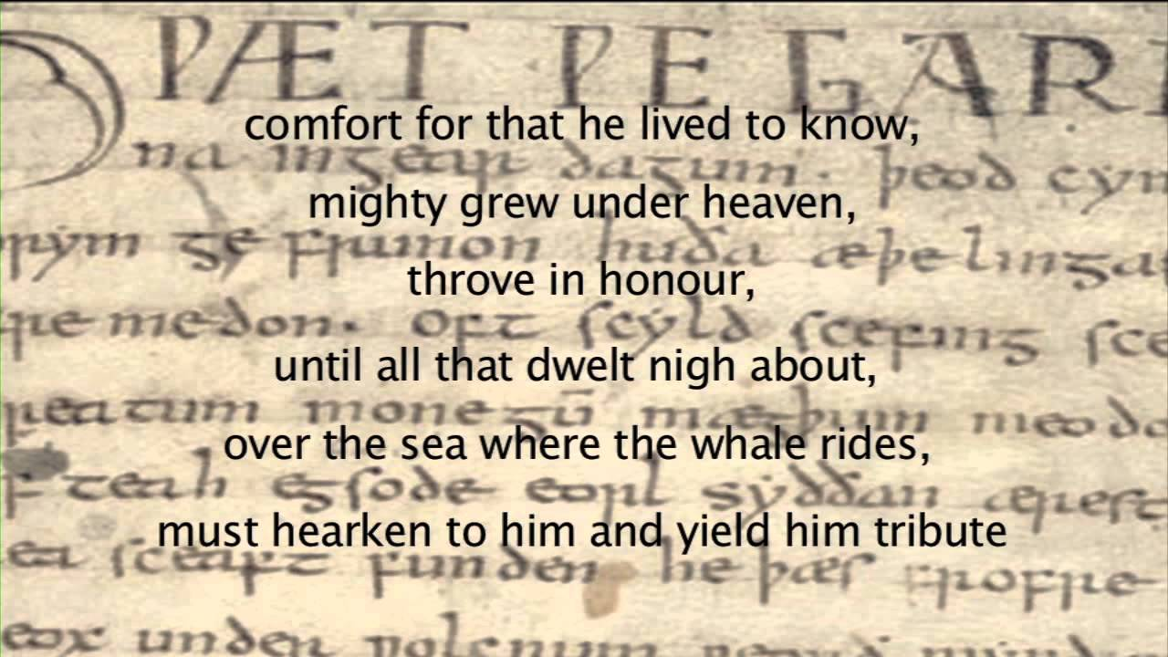 Beowulf (Old English) - YouTube