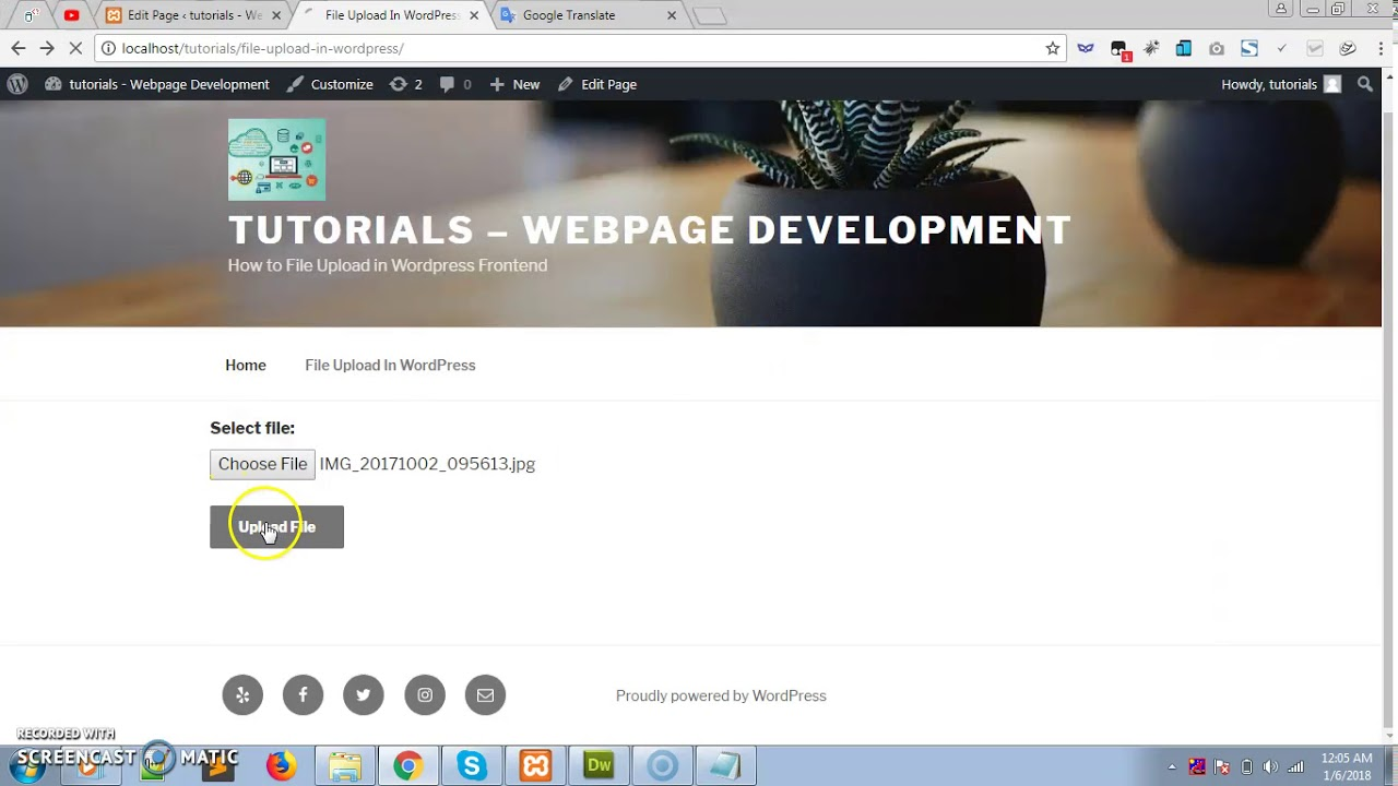 How to File Upload in Wordpress Frontend