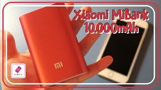 [UNBOXING] Bateria XIAOMI MiBank 10000mAh