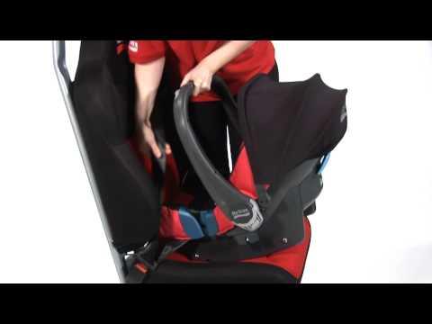BABY-SAFE PLUS SHR II - Installing The Seat