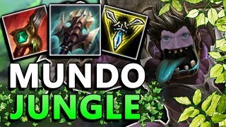 THIS NEEDS TO BE NERFED NOW!! - Fleet Footwork Mundo Jungle - League of Legends