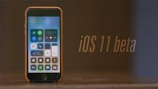 первый обзор iOS 11 beta на iPhone 7 plus. ЧТО НОВОГО