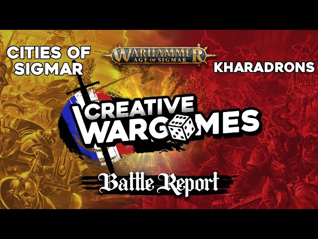 Rapport de bataille Age Of Sigmar - Cities of Sigmar VS Kharadrons - 1750pts