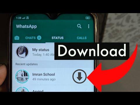 Whatsapp Status download kaise kare video | Whatsapp video download to gallery
