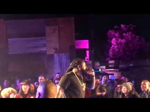 T-Pain Performs at All Def Digital Spotify Event in LA -- www.humannaturemag.com