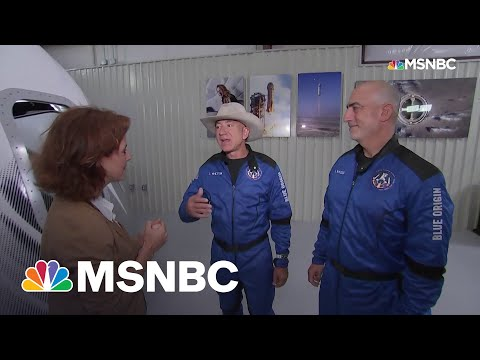 Jeff Bezos After Blue Origin Flight: 'It Was A Perfect Mission'