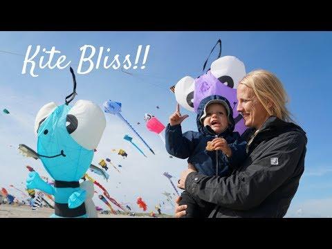Traveling Denmark: Fanø Kite Festival - Amazing Sight   Rødgård Campground