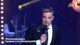 Robbie Williams on TODAY: Swing Supreme