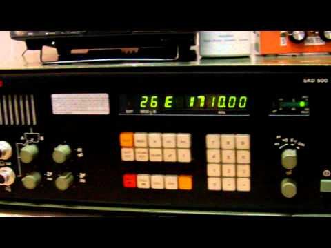 X-band  AM1710  Tigre Buenos Aires 01:00 UTC  EKD-500 Receiver