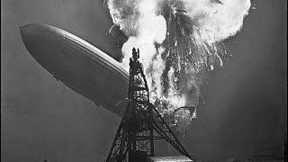 """1937г. - Катастрофа германского дирижабля LZ-129 """"Гинденбург"""""""