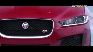 Тест-драйв Jaguar XE 2015
