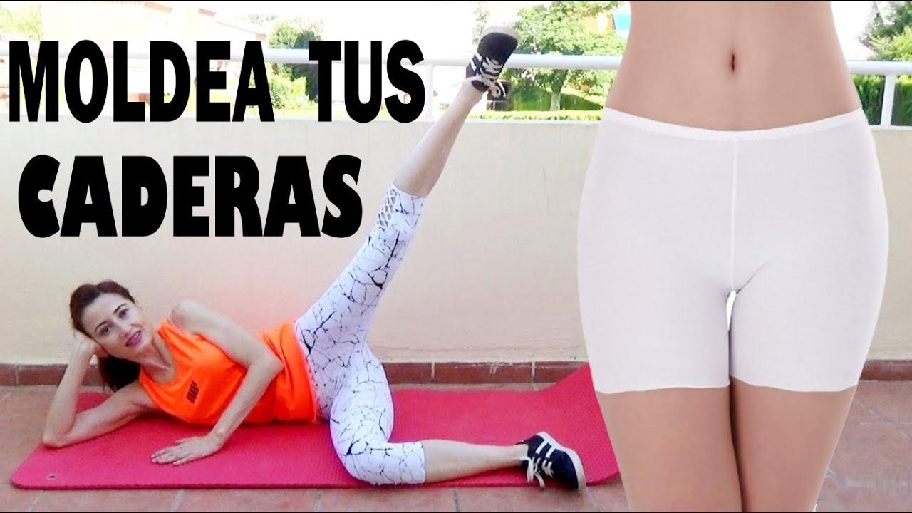 EJERCICIOS PARA CADERAS BONITAS Y MOLDEADAS | Mejorar Hip Dips