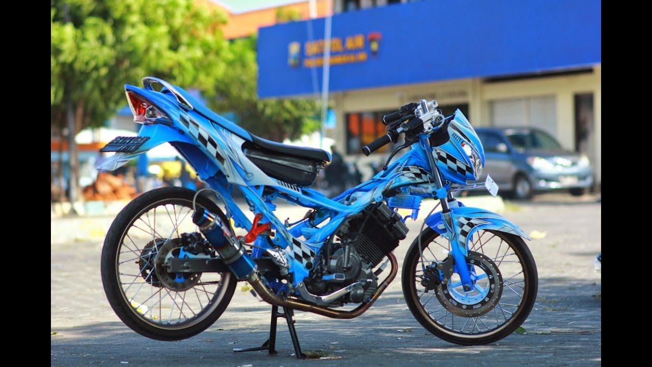 Download Ide Modifikasi Motor Suzuki Satria Fu 2010 Terkeren
