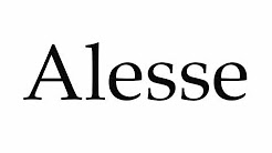 How to Pronounce Alesse