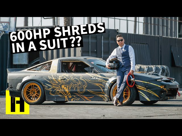Garage Built 600hp 240sx, Man in a Suit Sets the New Standard. Insanity line.