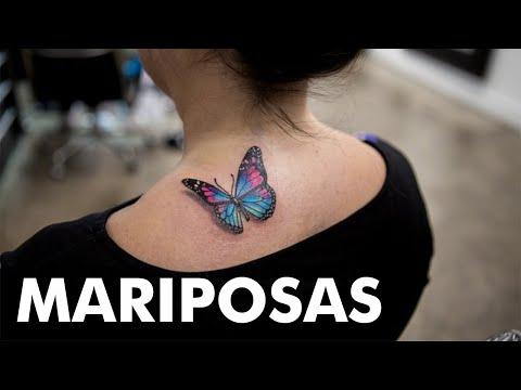 15 Maravillosos Tatuajes de Mariposas