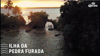 Paraíso Perdido na Bahia - A Ilha da Pedra Furada - Peninsula de Maraú