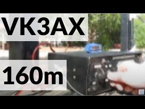 160 metres AM from Koornang Park: VK3AX on air