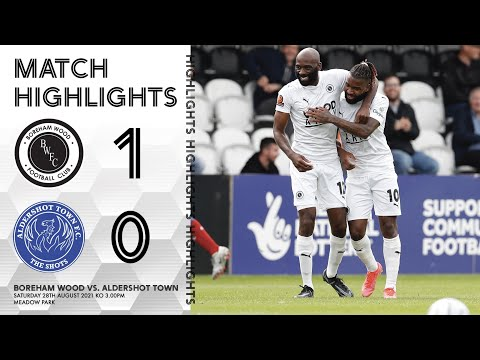 Boreham Wood Aldershot Goals And Highlights