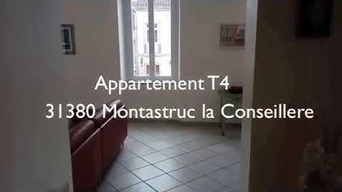 Appartement T4 - 31380 Montastruc la Conseillere