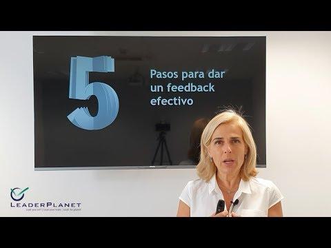 Feedback efectivo: 5 pasos y 1 ejemplo