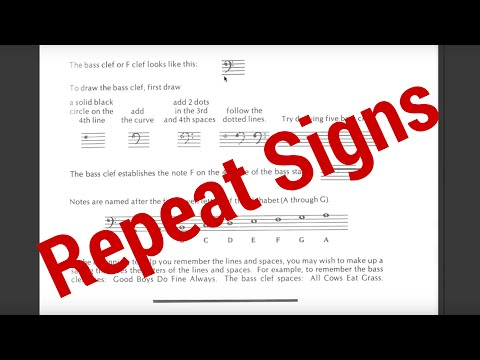 Theory Thursday #18: Repeat Signs