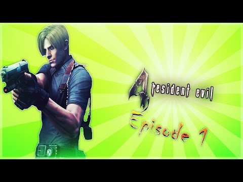 Resident Evil 4 - Episode 1 - Spanish Subtitles - Peed My Pants - Comedy Gaming