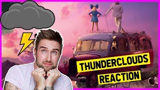 LSD - Thunderclouds (Official Video) ft. Sia, Diplo, Labrinth [REACTION] | thatsNathan Video
