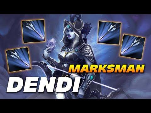 Dendi Marksman Drow Ranger | Dota 2 Pro Gameplay thumbnail