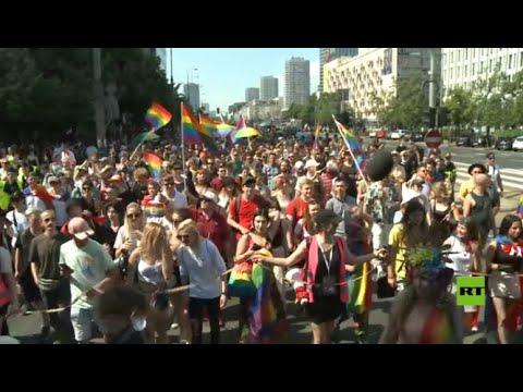 عمدة العاصمة البولندية يترأس مظاهرة حاشدة للمثليين  - نشر قبل 2 ساعة