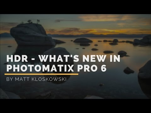 What's New in Photomatix 6 HDR App