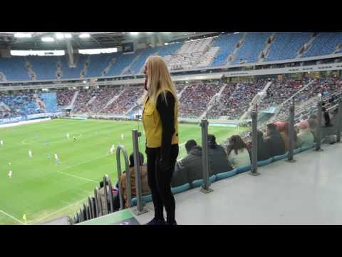 Прогулка по стадиону Крестовский (Зенит-Арена)