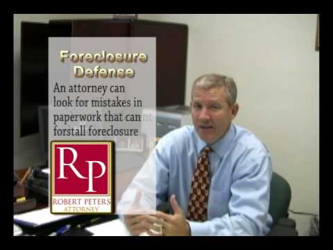 Florida Foreclosure Defense-The Basics