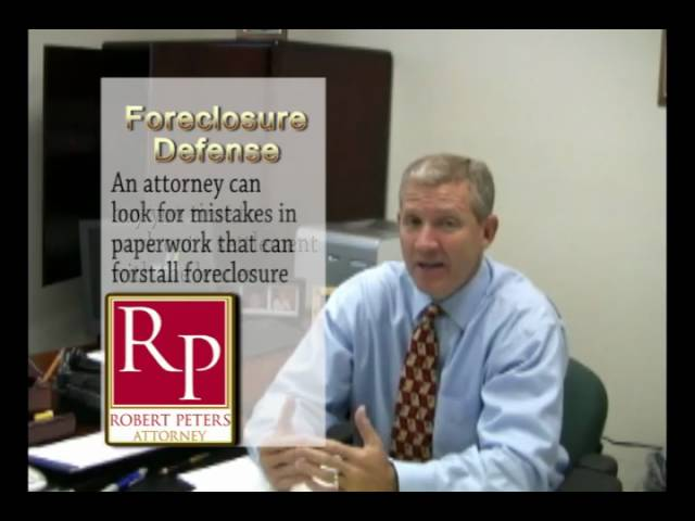Florida Foreclosure Defense-The Basics
