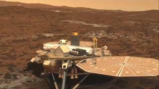 火星探査機Phoenix 打ち上げ~着陸シークエンス動画