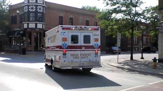 River Forest Fire Department (Spare?) Ambulance - Cook County Sheriff