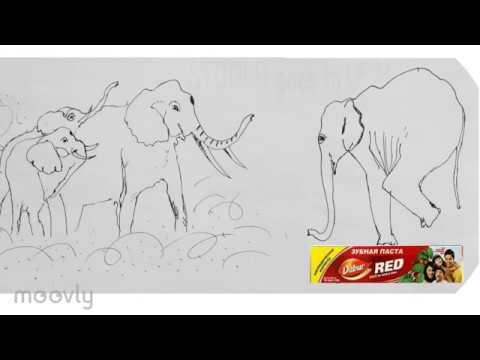 Зубная паста Дабур Ред