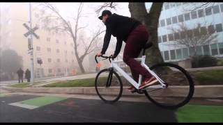 Discovering Sacramento California on a Bicycle [Fixed Gear Single Speed Fixie Bike]