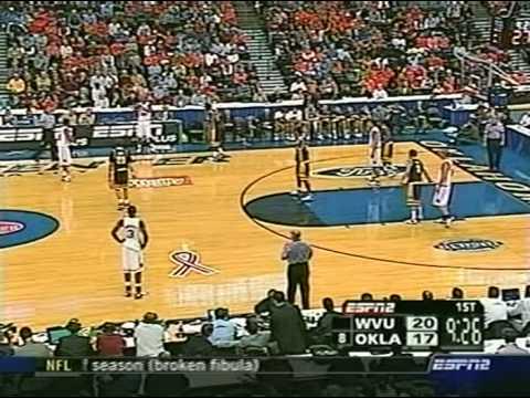 2005-06 BB - WVU vs #8 Oklahoma - 1st Half