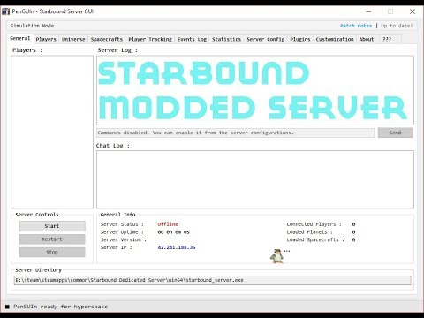 How to make a modded Starbound server | 1 3+