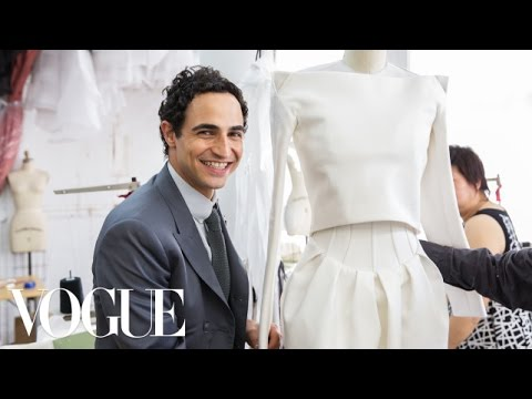 Zac Posen on His 10th Year on the Runway  followme