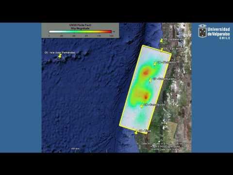 Efectos Tsunami en Juan Fernandez - Chile - 27/02/2010