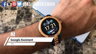 TIPS - Fossil Q Venture - 3rd Gen - Android Wear Smartwatch!