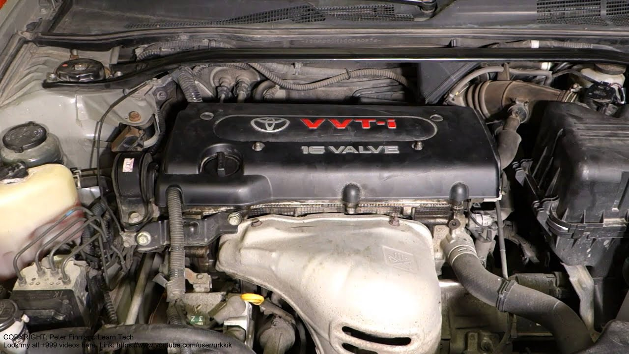 2005 Toyota Sienna Engine Diagram Simple Guide About Wiring Gibson P94 Where Is My Camry 2 4 Vvt I Type Code Place