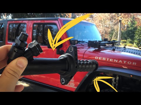 Jeep Wrangler slave cylinder install and bleed - YouTube