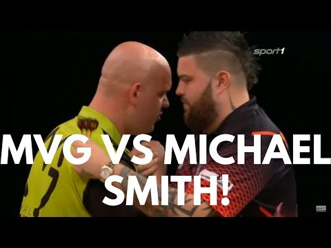 MICHAEL VAN GERWEN vs MICHAEL SMITH Grand Slam of Darts 2018 Round 2