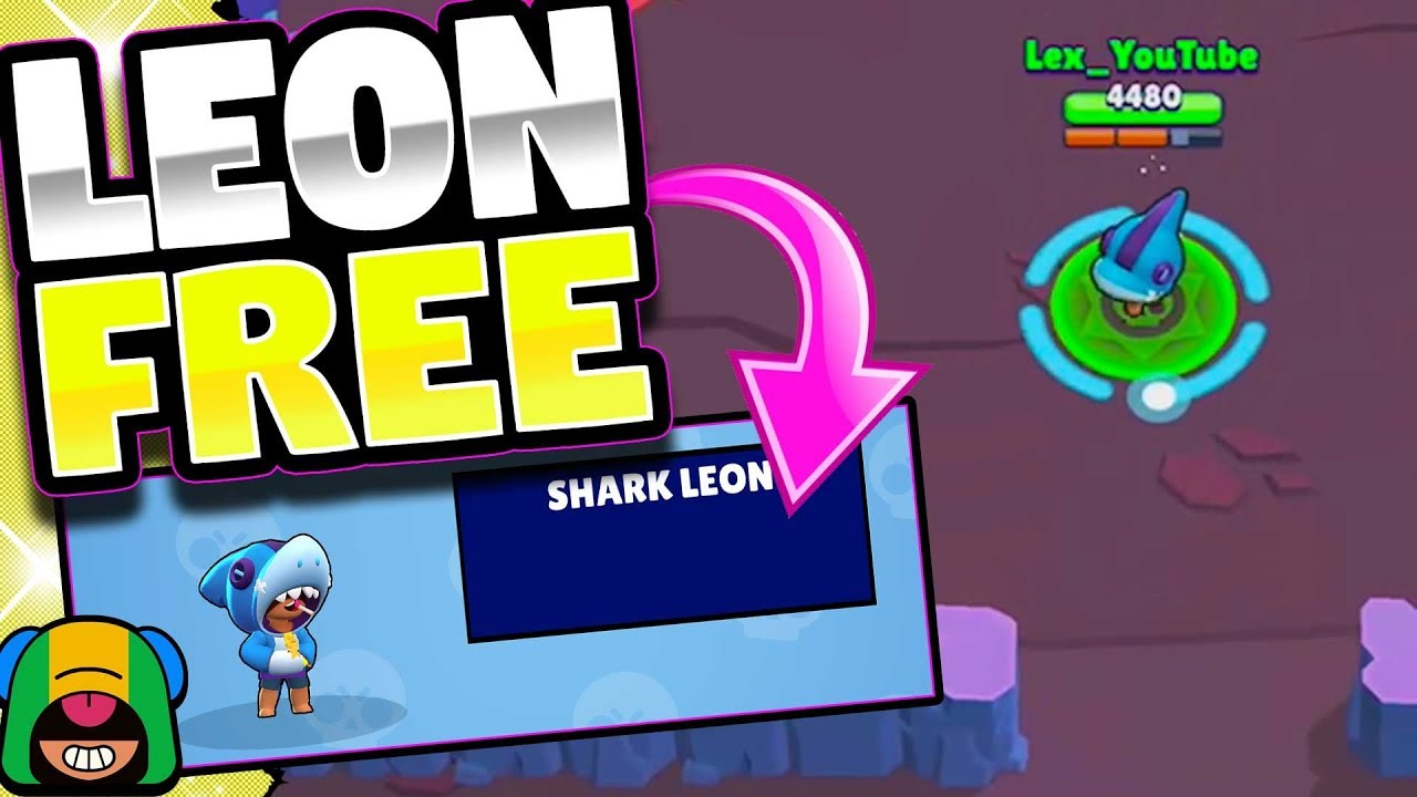 Free Legendary And Shark Leon Huge Giveaway In Brawl Stars Winbrawlskins